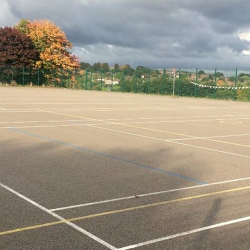 Forge Valley School tennis courts