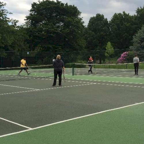weston park courts and players