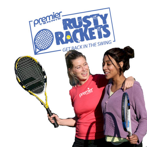 Rusty Rackets logo_girls